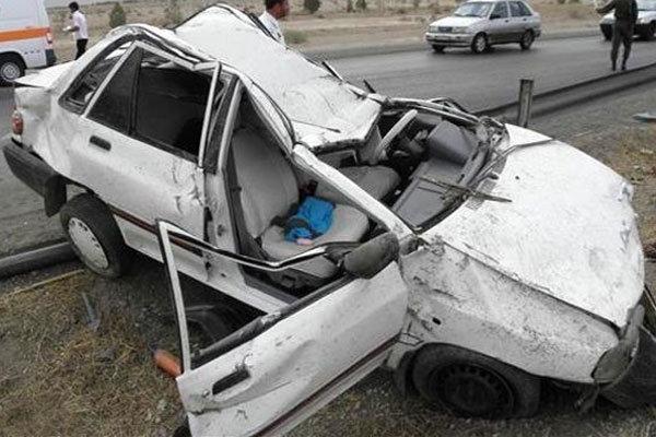 وقوع تصادفات در استان کرمان از ابتدای امسال ۵ درصد رشد داشته است