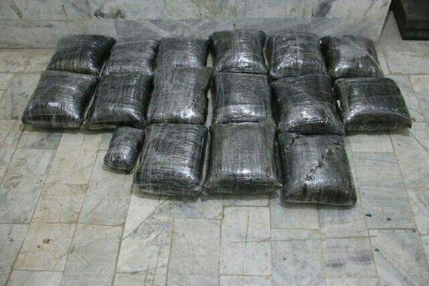 باند بین الملی قاچاق مواد مخدر در جنوب استان کرمان منهدم شد