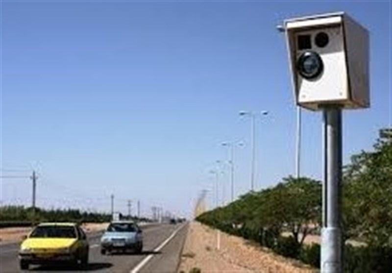 ۸ دستگاه دوربین کنترل سرعت در محور بم-کرمان نصب میشود