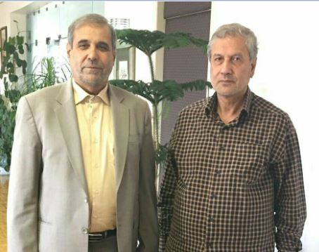 دیدار  نیکزادی نماینده شرق استان با ربیعی وزیر تعاون کار و رفاه اجتماعی