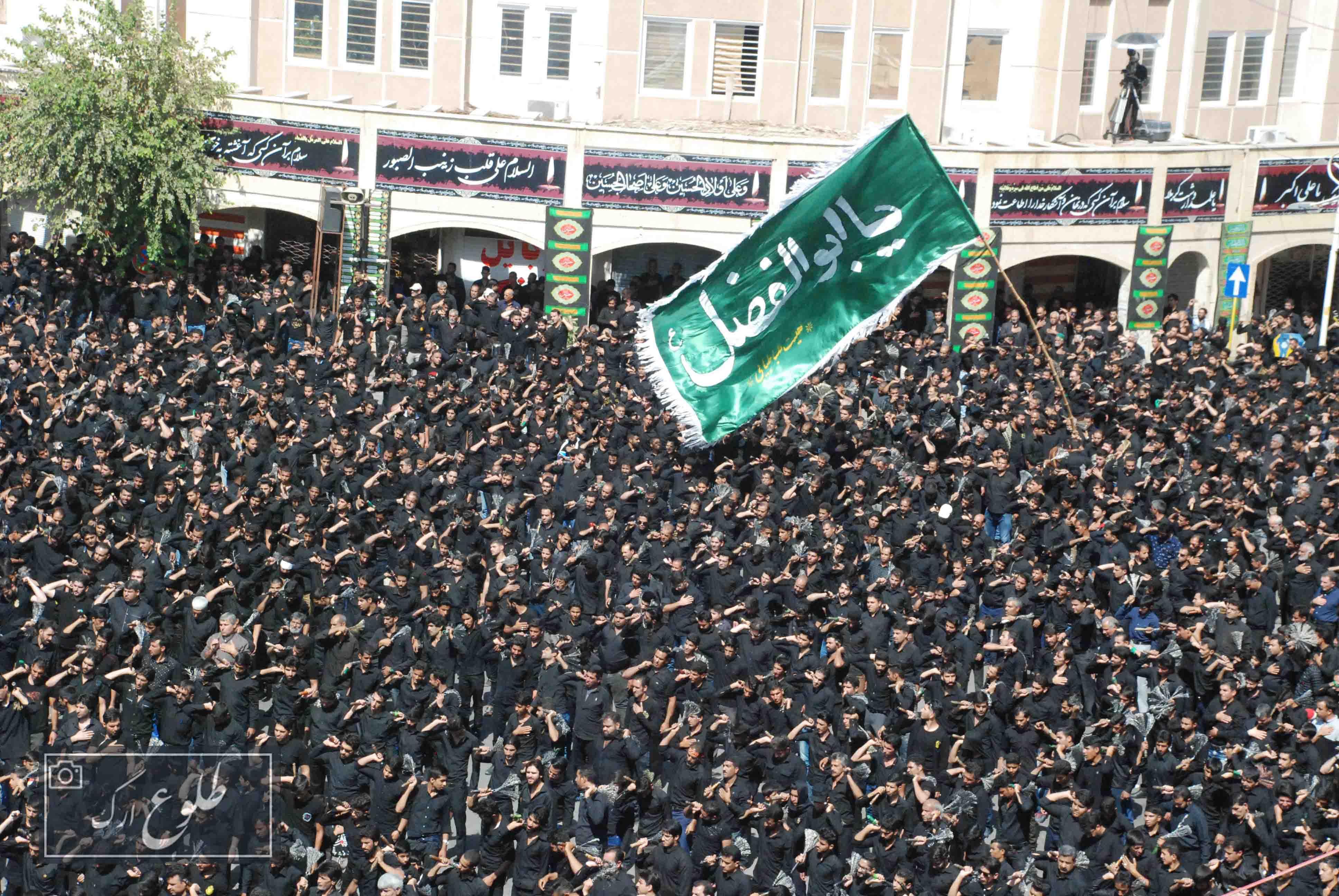 عزاداری تاسوعای حسینی در بم