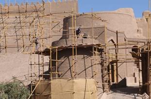 بهرهبرداری از دروازه اصلی ارگ قدیم بم