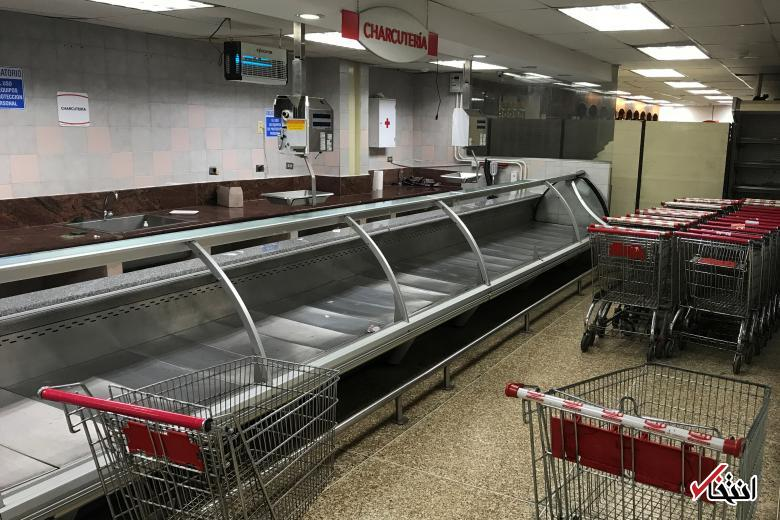 غارت فروشگاهها در تورم ۲۶۰۰ درصدی ونزوئلا + گزارش تصویری