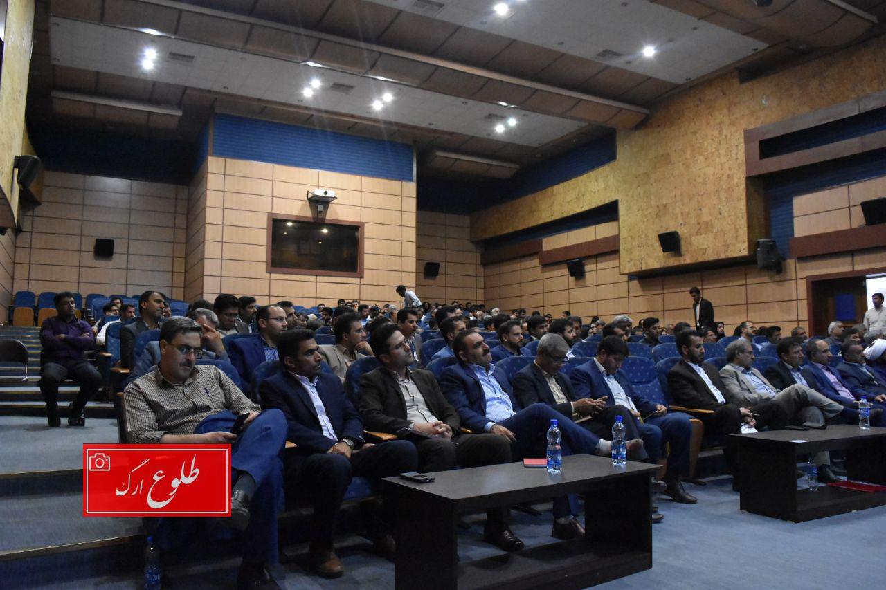 گزارشی از جلسه مشترک شورای اداری و روسای شوراهای اسلامی شهر و روستا و دهیاران شهرستان بم