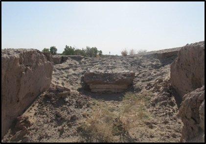 کشف یک آتشدان دوره ساسانی در شهرستان ریگان