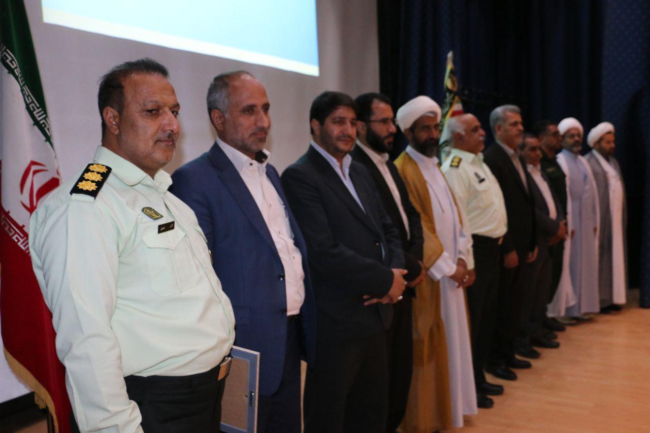 اکبر نجفی بهعنوان فرمانده جدید انتظامی شهرستان بم معرفی شد.
