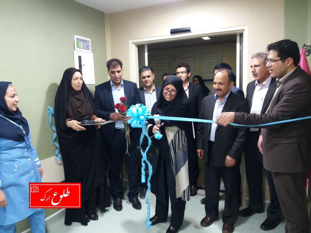 کلینیک پرستاری پیشگیری از بیماری های غیر واگیر در بم افتتاح شد