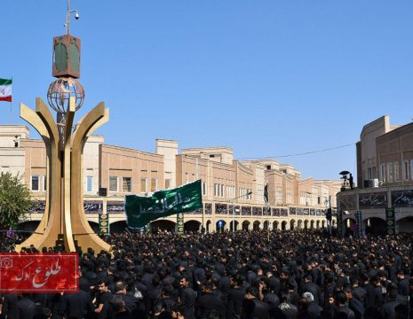 <h5>گزارش تصویری عزاداری باشکوه مردم بم در تاسوعای حسینی97</h5><br><div>عکس : طلوع ارگ - علی ... </div>