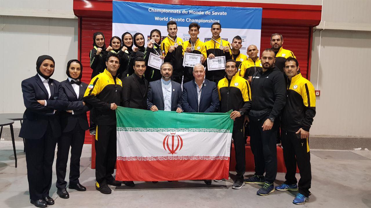 تیم ملی ساواته ایران به مقام سوم جهان دست یافت