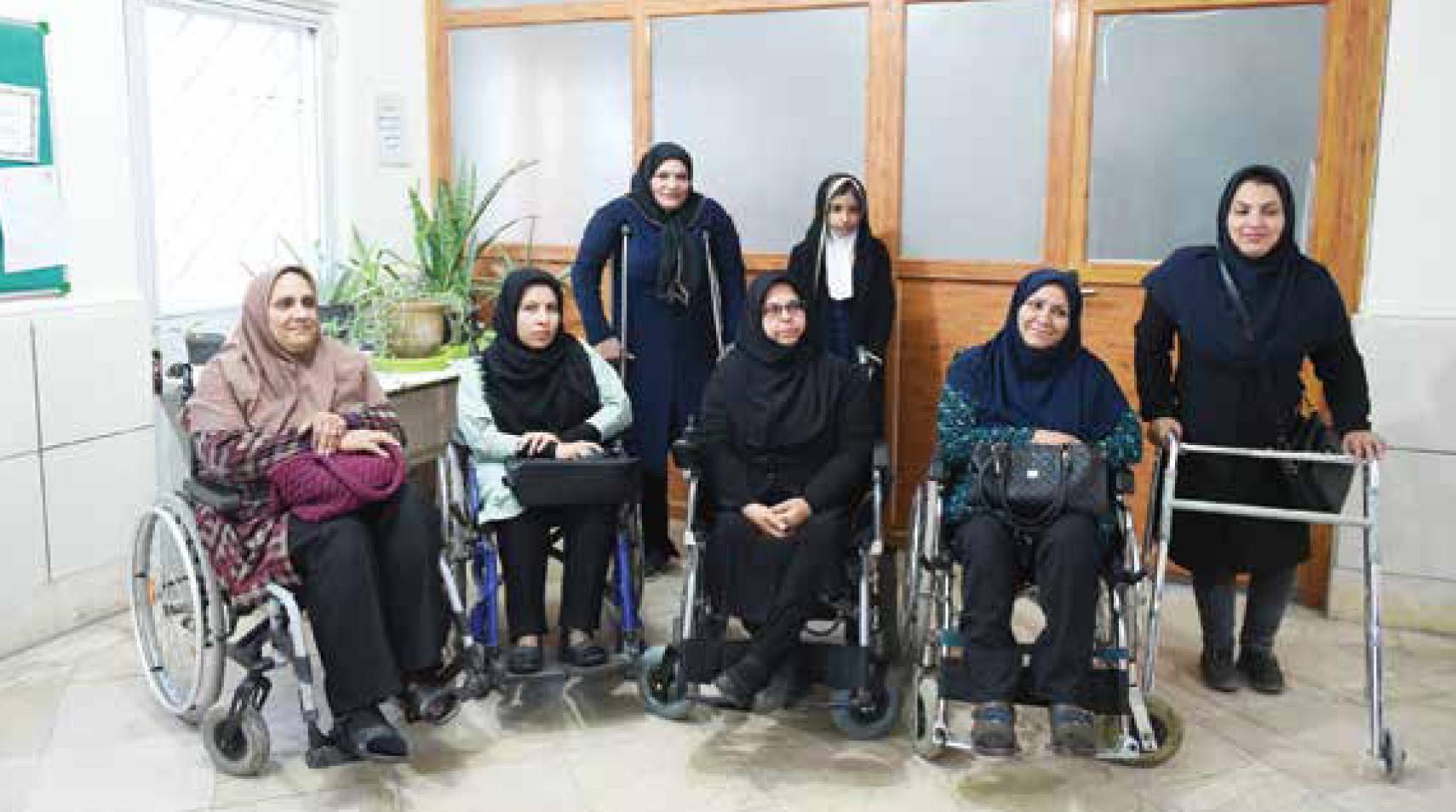 پای درد دل زنانی که ۱۴ سال پیش معلول شدند
