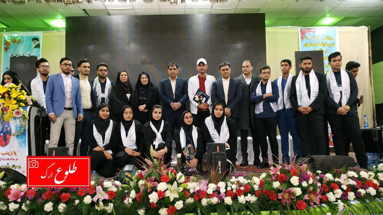 گردهمایی بزرگ پرستاران، بازنشستگان، دانشجویان گروه های پرستاری شرق استان کرمان برگزار شد.