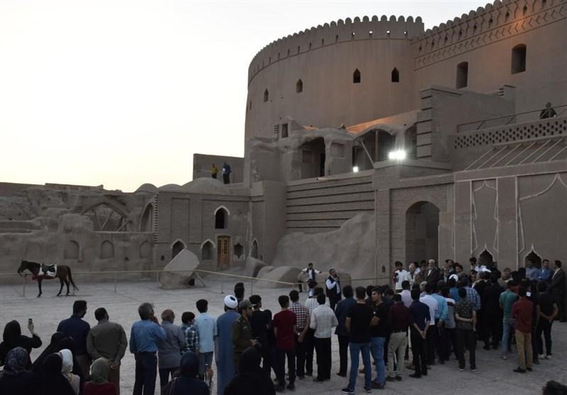 ارگ تاریخی بم در تعطیلات نوروز امسال روزانه ۵۰۰۰ هزار بازدیدکننده داشت