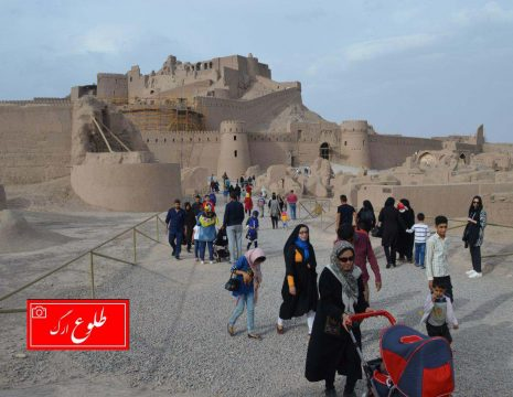 <h5>گزارش تصویری از حضور پرشور مسافران نوروزی در ارگ تاریخی بم</h5><br><div>عکس: طلوع ارگ - صادق ... </div>