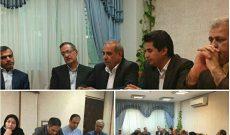 تشکیل جلسه کارگروه ملی راهاندازی دهکده خرمای بم در دفتر معاون رییس جمهور