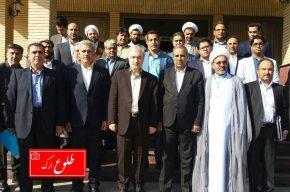 با حضور دکتر نمکی وزیر بهداشت، درمان و آموزش پزشکی۲۷ طرح درمانی، بهداشتی و رفاهی در شرق استان کرمان افتتاح شد
