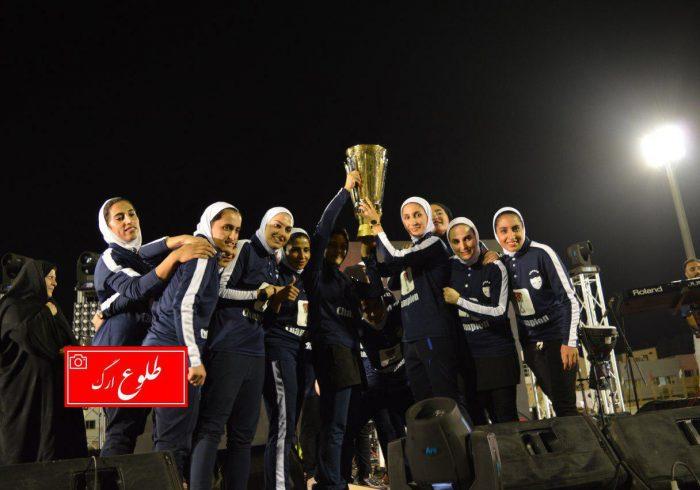گزارش تصویری جشن بزرگ قهرمانی تیم فوتبال بانوان شهرداری بم
