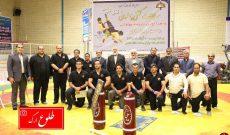 بم فاتح مسابقات کشتی پهلوانی قهرمانی استان کرمان