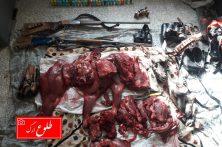 دستگیری دو شکارچی متخلف در بم