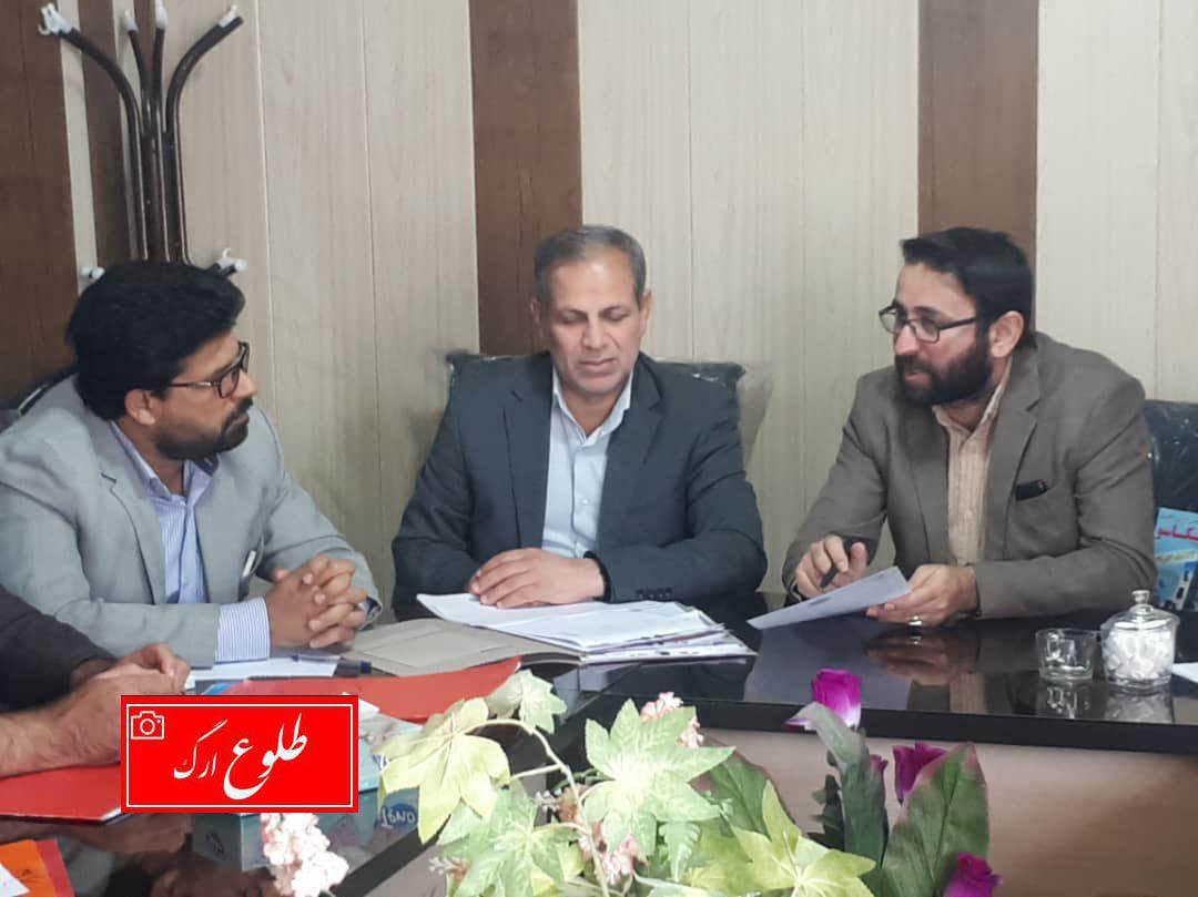 تشکیل جلسه کمیسیون های ماده ۱۰۰ و ۷۷  شهرداری نرماشیر
