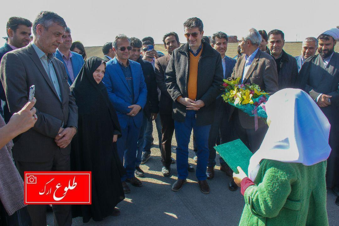 ۲ مدرسه پویش 'ایران من' درشرق استان کرمان به بهره برداری رسید