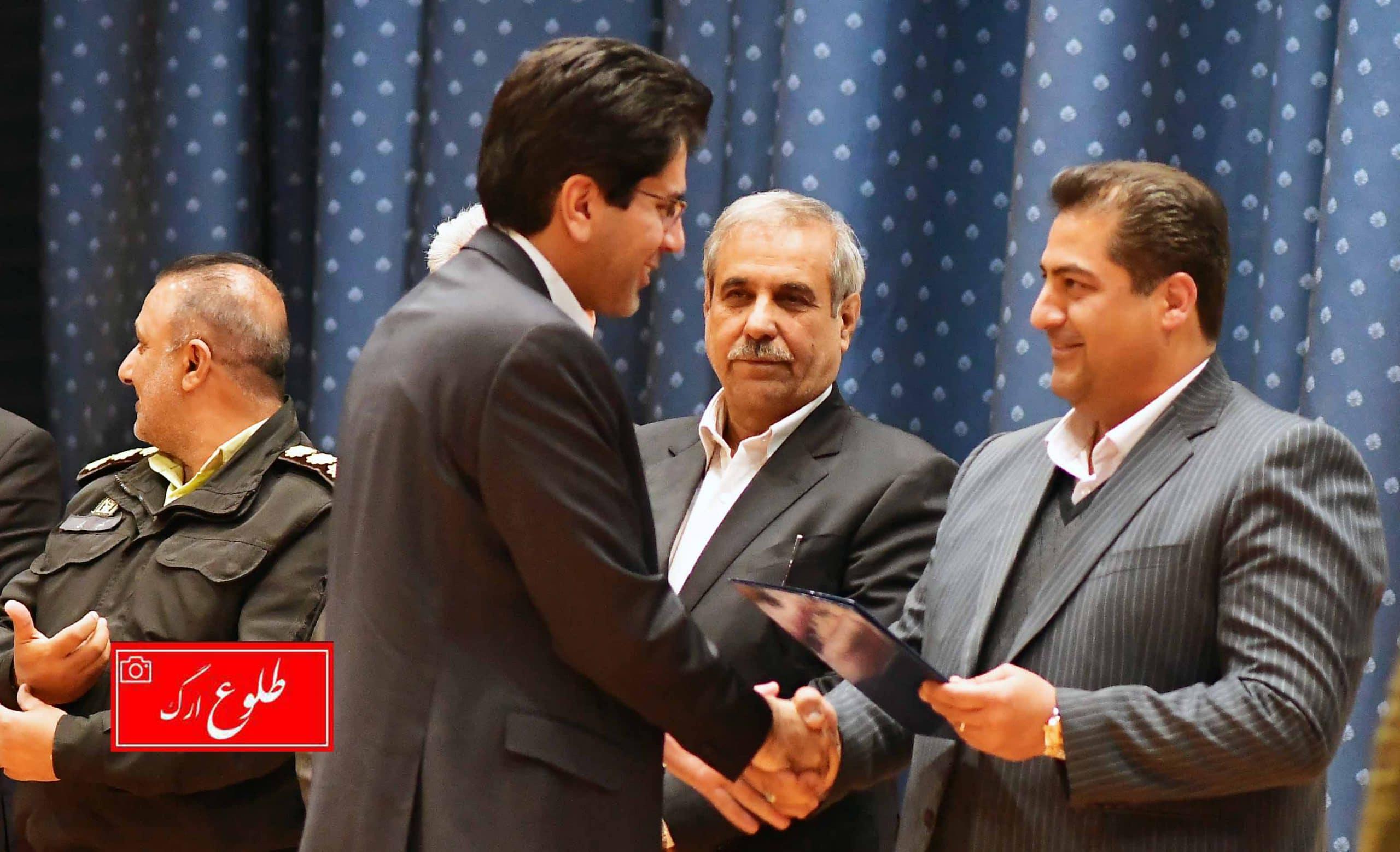 گزارش تصویری مراسم معارفه محمد بنی اسدی به عنوان شهردار شهر جهانی بم