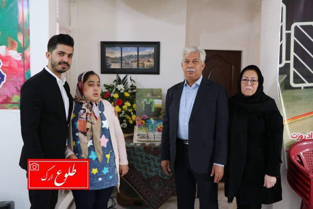 افتتاح موسسه خیریه ویژه نابینایان در شهرستان بم