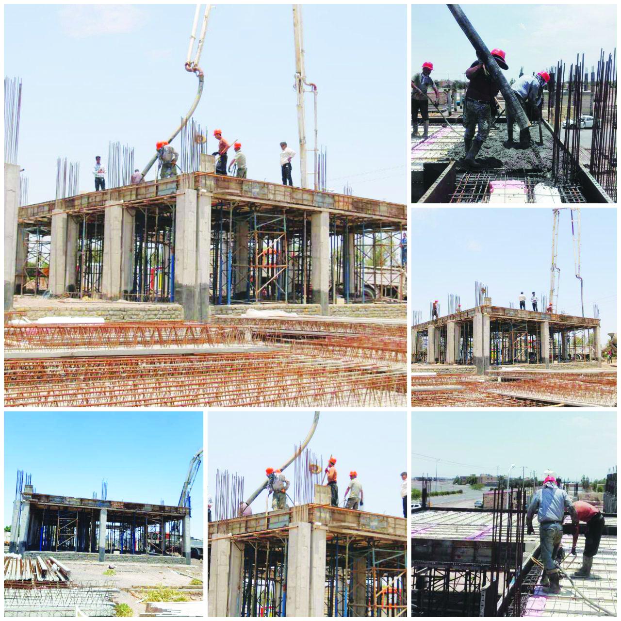 ادامه عملیات ساخت پروژه های انبوه سازان مسکن و ساختمان بهار در سال ۱۳۹۹