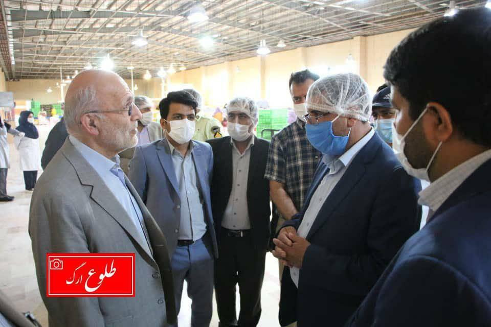 بازدید رئیس کل دادگستری استان کرمان از یک واحد بستهبندی و صادرات خرما در بم