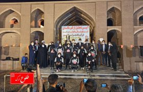 گزارش تصویری آیین تجلیل از قهرمانان تیم فوتبال بانوان شهرداری بم در ارگ قدیم بم