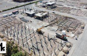 گزارش تصویری از روند ساخت پروژه بزرگ انبوه سازان مسکن و ساختمان بهار