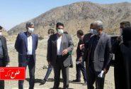 بازدید رییس سازمان مدیریت و برنامه ریزی استان کرمان از چند پروژه عمرانی شهرستان بم