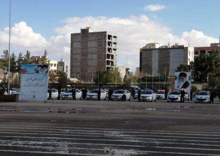 تحویل ۱۰۰ دستگاه خودرو به ناوگان خودروئی پلیس استان کرمان