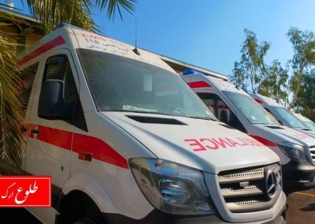 ۳۵ نفر از پرسنل اورژانس پیش بیمارستانی بم به کرونا مبتلا شده اند