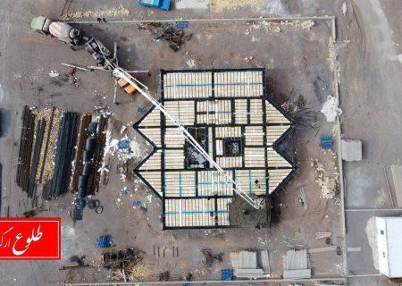 گزارش تصویری از آخرین وضعیت پروژههای مسکونی انبوه سازان بهار در ارگ جدید نیمه دوم آذر ۹۹