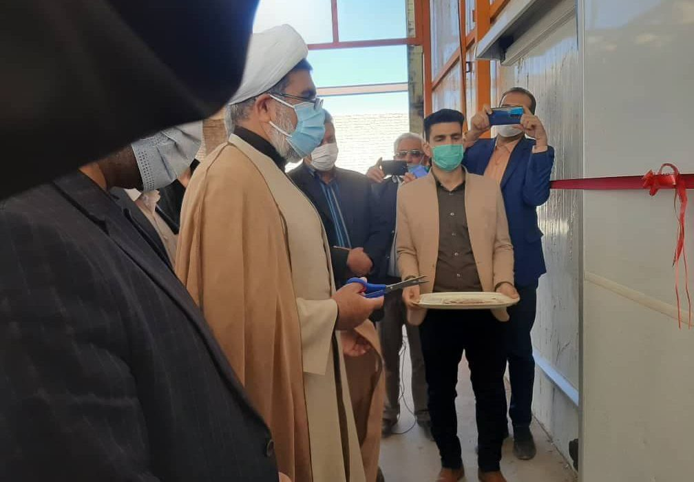 نخستین انبار پذیرش رطب مضافتی بم در بورس افتتاح شد