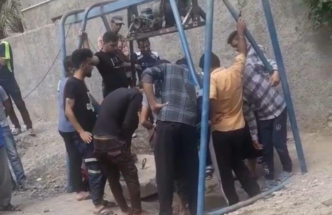  مرگ دردناک مقنی در قنات حسینیه بم